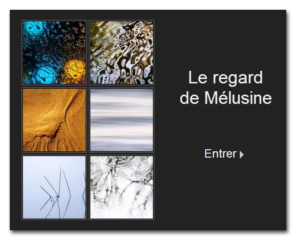 lien site Le regard de Mélusine, photographe et webmaster